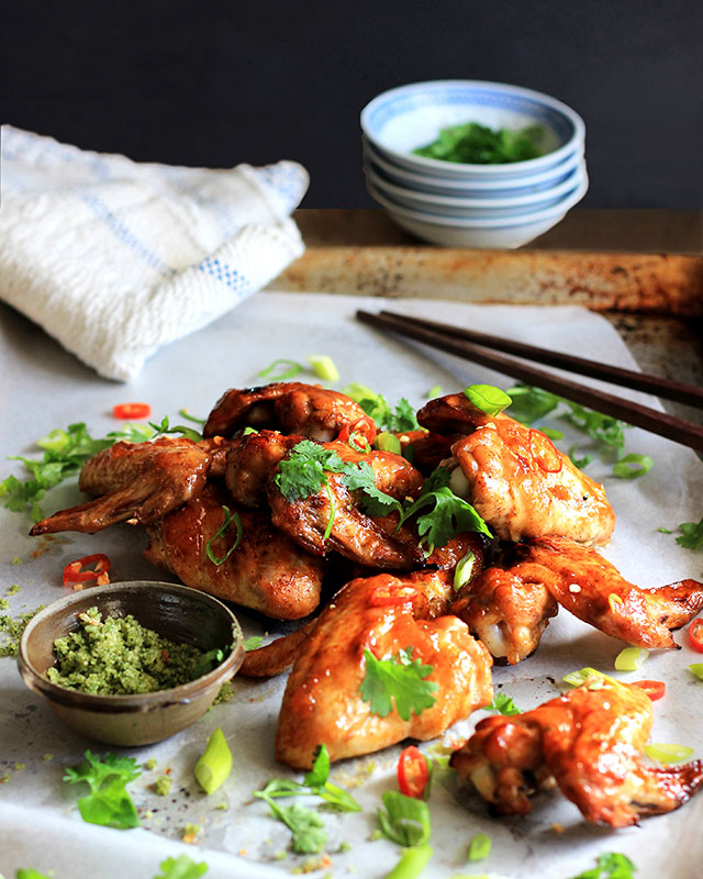 Sticky-chicken-wings