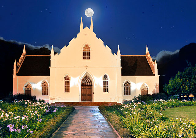 Franschhoek-church