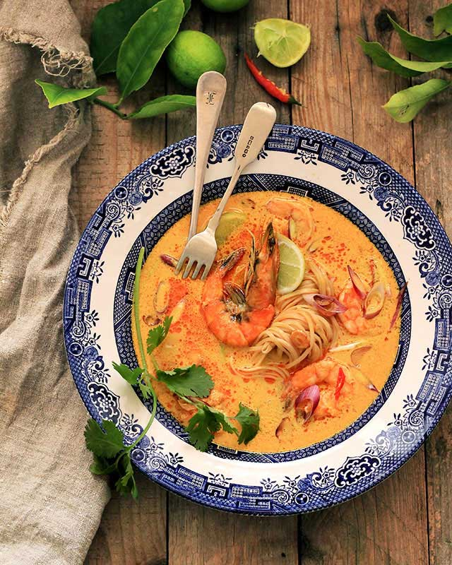 Prawn-and-noodle-soup