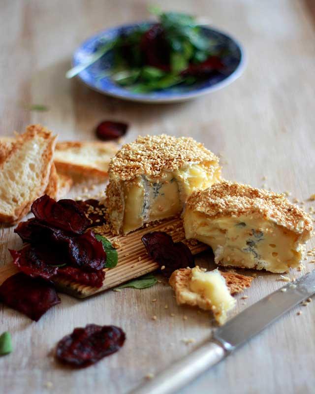 baked goats cheese fondue