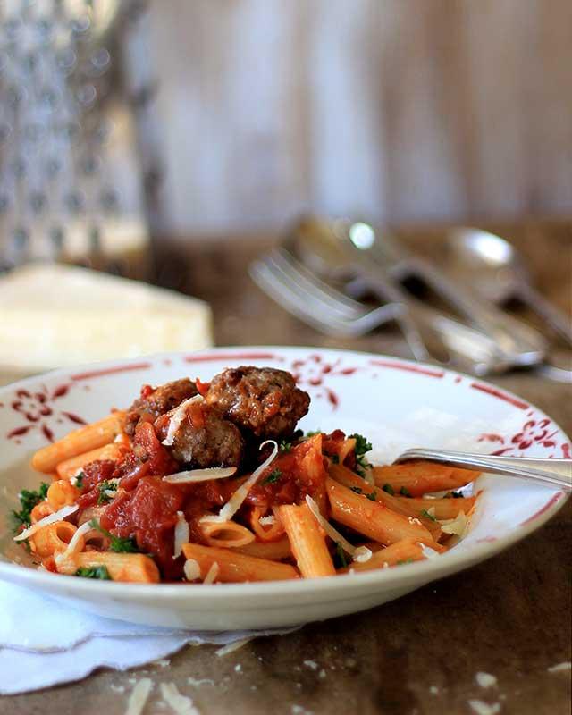 boerewors pasta
