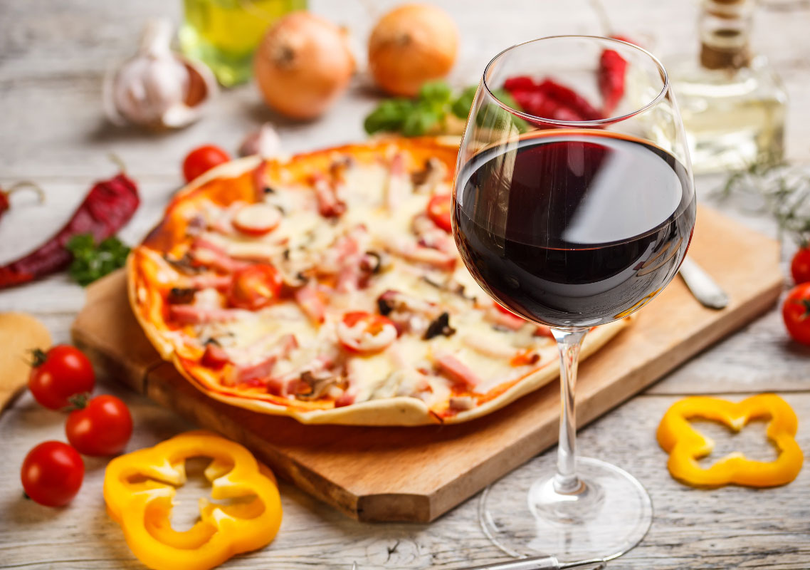 pizza-and-wine