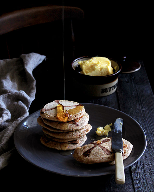 hot cross crumpets