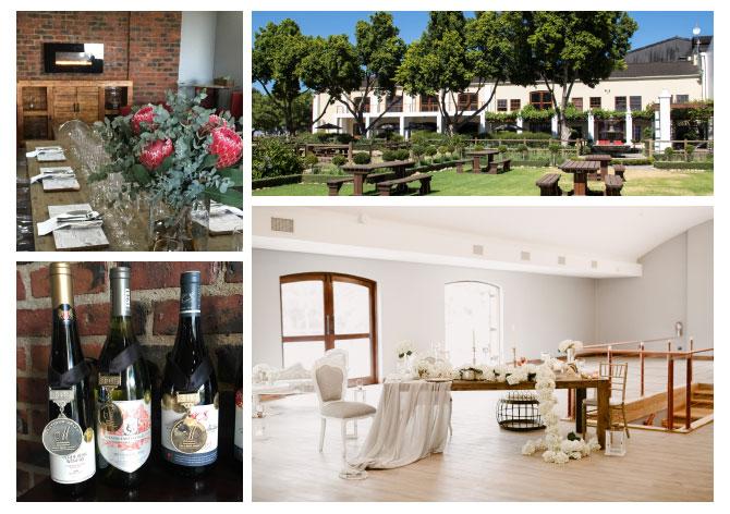 Perdeberg wines collage