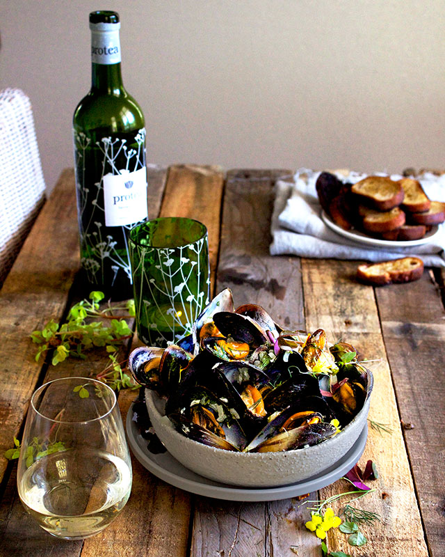 mussels-with-white-wine