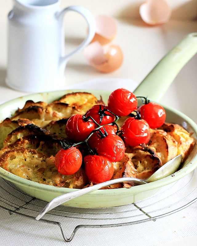 Baked Parmesan French Toast